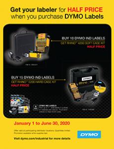 DYMO Rhino Buy X Promotional Flyer_2020